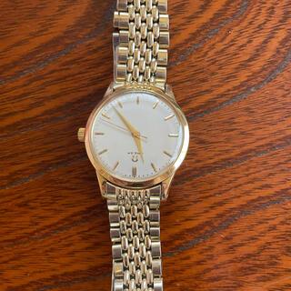 OMEGA - 稀少品 金無垢 オメガ  OMEGA 手巻き メンズ 男性 腕時計