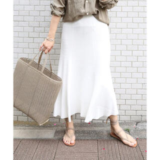 DEUXIEME CLASSE - Deuxieme Classe SWING RIB スカート ¥39,600