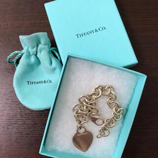 Tiffany & Co. - ティファニー ハートモチーフ ブレスレット