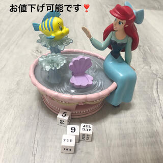 Disney - アリエル カレンダーフィギュア