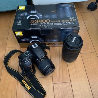 Nikon - Nikon D3400 ダブルレンズキッド