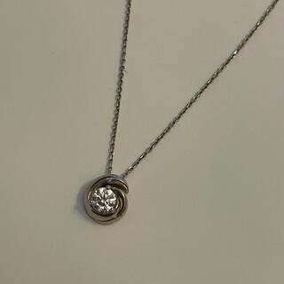 デビアス(DE BEERS)のFOREVERMARK プラチナ ダイヤモンド ペンダント(ネックレス)
