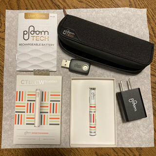 プルームテック(PloomTECH)のploomtech新品[ケース充電器付(タバコグッズ)