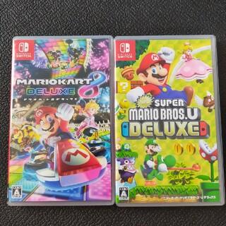 Nintendo Switch - スーパーマリオブラザーズu deluxe マリオカート8deluxe