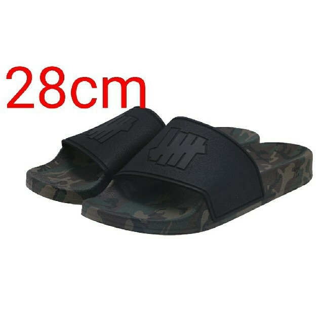 UNDEFEATED(アンディフィーテッド)の28cm UNDEFEATED 5 STRIKE SLIDE uactpサンダル メンズの靴/シューズ(サンダル)の商品写真