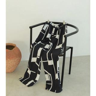 todayful  geometric tuck trousers