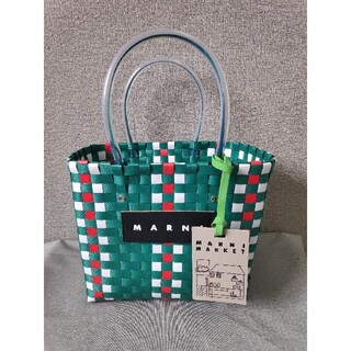 Marni - ♬素敵♬❀MARNI❀マルニ ピクニックバッグ ♬ 未使用 レディース