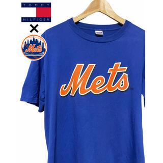 トミー(TOMMY)のTOMMY Mets メジャーリーグ Tシャツ L ニューヨーク メッツ MLB(Tシャツ/カットソー(半袖/袖なし))