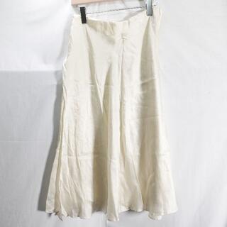 ドゥーズィエムクラス(DEUXIEME CLASSE)のDeuxieme Classe GLOSSY SKIRT レディース ホワイト(ひざ丈スカート)