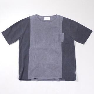 ドアーズ(DOORS / URBAN RESEARCH)のURBAN RESEARCH DOORS【ピグメント切り替えプリントTシャツ】(Tシャツ/カットソー(半袖/袖なし))