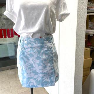 PUMA - pumaボタニカル柄スカートMサイズ