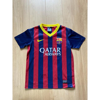 NIKE - サッカースペインバルセロナユニフォームオーセンティックナイキS140キッズ