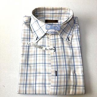 アラミス(Aramis)のアラミス ARAMIS チェック メンズ 半袖 ワイシャツ Yシャツ M(シャツ)
