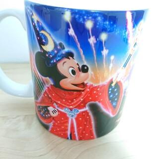 ディズニー(Disney)のディズニーシー ファンタズミック マグカップ 実写 ミッキー ディズニー コップ(キャラクターグッズ)