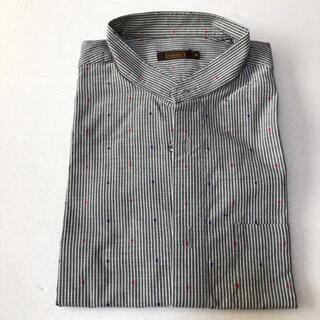 アラミス(Aramis)のアラミス ARAMIS ストライプ メンズ 半袖 ワイシャツ Yシャツ M(シャツ)