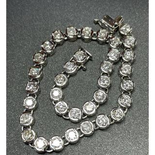 テニスブレスレット ダイヤモンド3.85ct(ブレスレット/バングル)