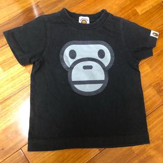 アベイシングエイプ(A BATHING APE)のベイビーマイロ 90サイズ半袖(Tシャツ/カットソー)