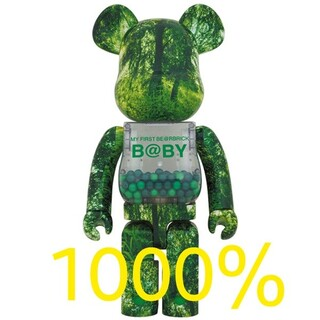 MEDICOM TOY - BE@RBRICK B@BY FOREST GREEN Ver. 1000%