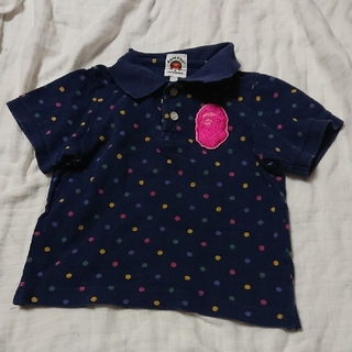 アベイシングエイプ(A BATHING APE)のA BATHING APE  ポロシャツ   90(Tシャツ/カットソー)
