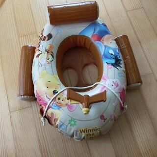 Disney - プーさん ハンドル付き足入れ浮き輪