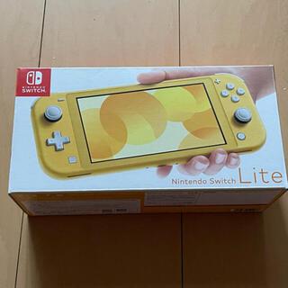 Nintendo Switch - 最終出品!ニンテンドースイッチライト本体  イエロー 中古美品☆