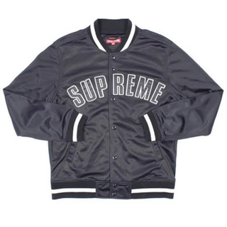 Supreme - Supreme 15SS Mesh Varsity Jacket