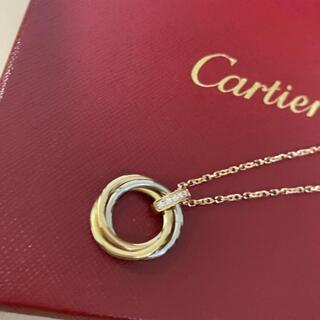 Cartier - カルティエ トリニティネックレス ダイヤモンド