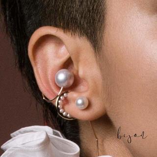 ESTNATION - ヒロタカ Pearl Ear Cuff  24Kコーディング