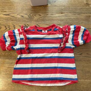 マーキーズ(MARKEY'S)のマーキーズ フリルが可愛いトップス  サイズ90(Tシャツ/カットソー)