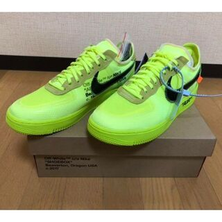 Nike Air Force 1 Low Volt Off White 28cm(スニーカー)
