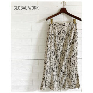 グローバルワーク(GLOBAL WORK)の【大人気♡】GLOBALWORKグローバルワークロングスカートダルメシアン(ロングスカート)