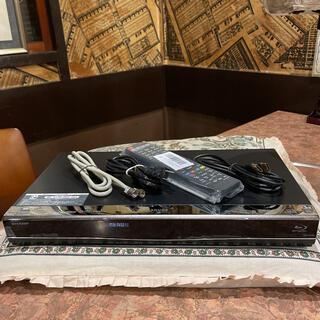 シャープ(SHARP)のSHARP BD-W550 12倍 2番組W録 500GB 外付HDD フル装備(ブルーレイレコーダー)
