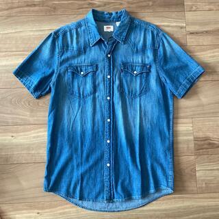 リーバイス(Levi's)のLevis 新品タグ付き半袖デニムシャツ(シャツ)