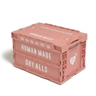 【新品未使用】Human made container 50L Pink