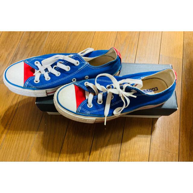 CONVERSE(コンバース)のconverse トリコロール 23cm【LAで購入】 レディースの靴/シューズ(スニーカー)の商品写真