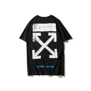 男女兼用☆2枚8000円☆OFF-WHITE48#☆Tシャツ新品☆オフホワイト☆(Tシャツ/カットソー(半袖/袖なし))