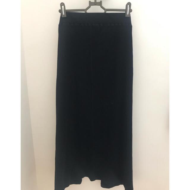 IENA SLOBE(イエナスローブ)のスローブイエナ  リブタイトスカート レディースのスカート(ロングスカート)の商品写真