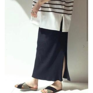 IENA SLOBE - スローブイエナ  リブタイトスカート