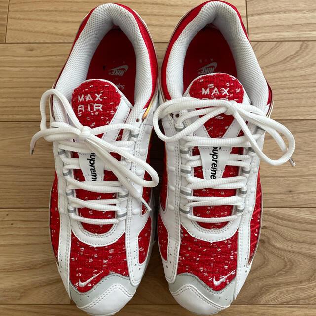 Supreme(シュプリーム)のNIKE × Supreme AIR TAILWIND Ⅳ メンズの靴/シューズ(スニーカー)の商品写真