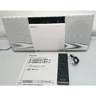 パイオニア(Pioneer)のパイオニア ミニコンポ X-SMC01BT■CD/USB/BT/iphon(その他)