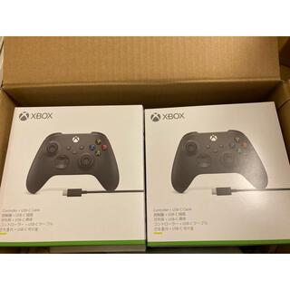 Xbox - Microsoft XBOX ワイヤレスコントローラー USBケーブル付 純正