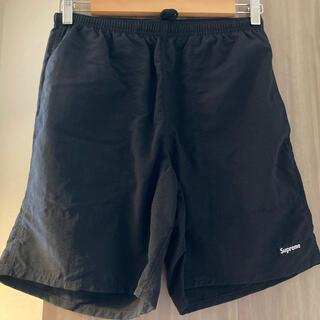 シュプリーム(Supreme)のSサイズ Supreme Nylon Water Short Black(ショートパンツ)