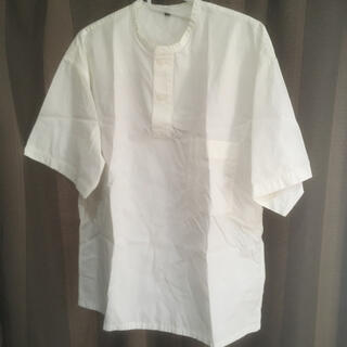 ムジルシリョウヒン(MUJI (無印良品))の無印良品 半袖シャツ 白(シャツ)