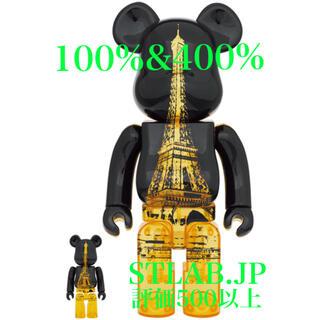 メディコムトイ(MEDICOM TOY)のBE@RBRICK EIFFEL TOWER GOLDEN 100%&400%(その他)