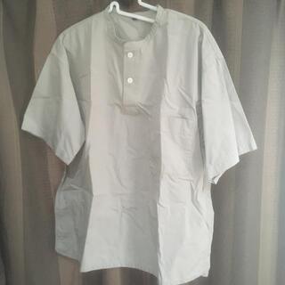 ムジルシリョウヒン(MUJI (無印良品))の無印良品 半袖シャツ グレー(シャツ)