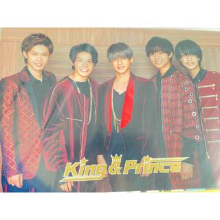 ジャニーズ(Johnny's)のKing&Prince クリアポスター(男性アイドル)