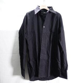 DOLCE&GABBANA - DOLCE&GABBANA Yシャツ メンズ ブラック