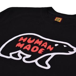 GDC - HUMAN MADE アルファベット北極ぐま 白黒2点