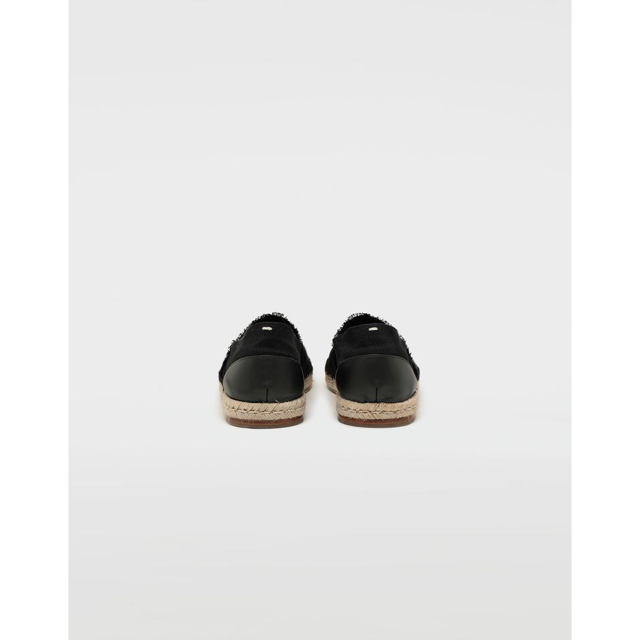 Maison Martin Margiela(マルタンマルジェラ)の☆Maison Margielaメゾンマルジェラ 足袋 エスパドリーユ 黒 35 レディースの靴/シューズ(スリッポン/モカシン)の商品写真