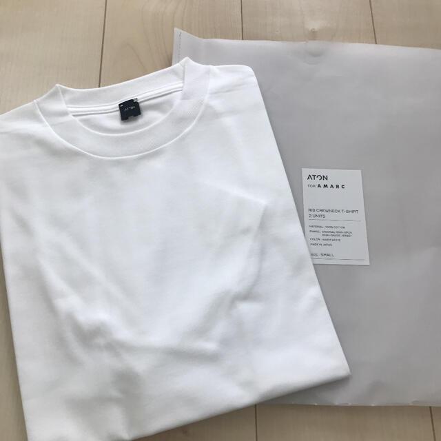 Ron Herman(ロンハーマン)のATON 2枚セット パックTシャツ  レディースのトップス(Tシャツ(半袖/袖なし))の商品写真